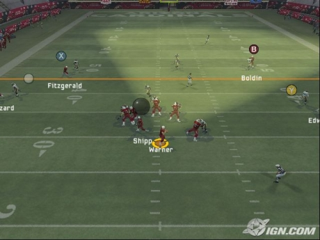 Madden NFL 13 Quarterback Vision Cone